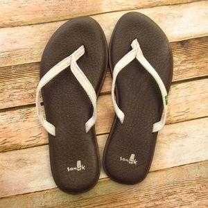 Sanuk Recycled Yoga Mat Flip Flop Sandals 6